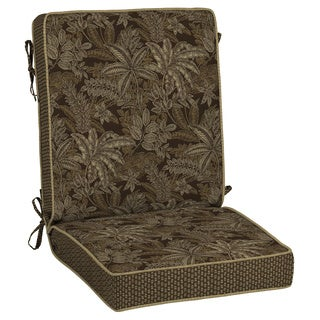 Bombay Outdoors Palmetto Espresso Reversible Chair Cushion