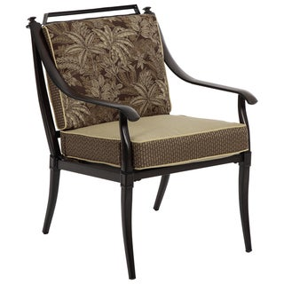 Bombay® Outdoors Normandy Palmetto Dining Arm Chairs Set of 4