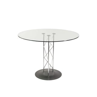 Trave Black 42-inch Dining Table