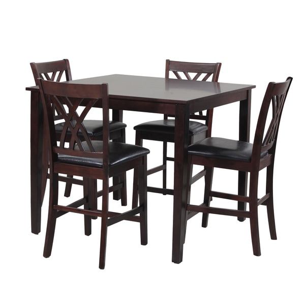 Oh! Home Raleigh Counter Height 5-Pieced Dining Group