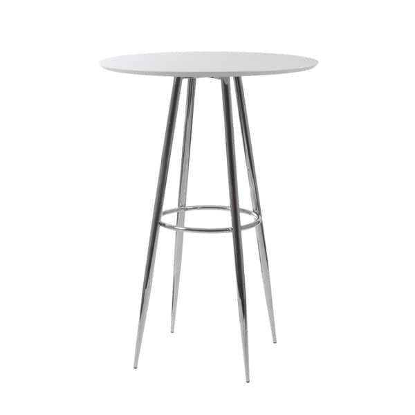 Bravo-B White Bar Table