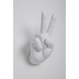 Resin Peace Sign Wall Hook