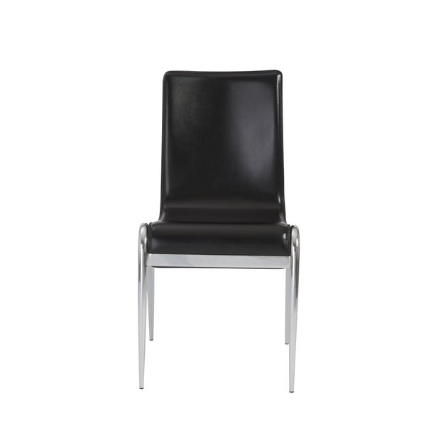 Grace Black Side Chairs (Set of 4)