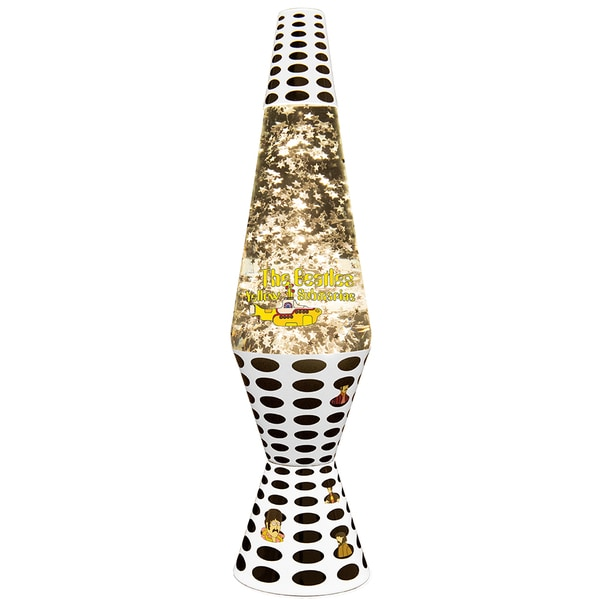 14.5-inch Yellow Submarine Sea of Holes Lamp