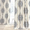 EFF Kerala Blue Printed Cotton Twill Curtain Panel
