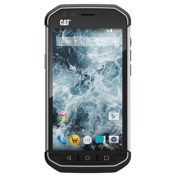 CAT S40 16GB Unlocked GSM 4G LTE Refined Rugged IP68 Cell Phone - Black
