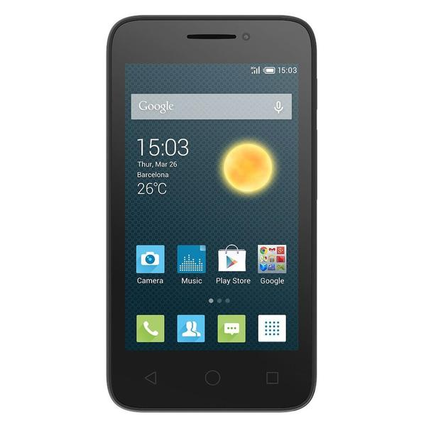 "Alcatel One Touch Pixi 3 (4.5"") Unlocked GSM 4G LTE Android Phone - Black"