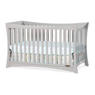 Child Craft Parisian 3-in-1 Stationary Crib in Cool Grey