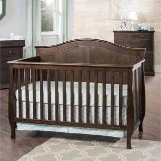 Child Craft Camden 4-in-1 Lifetime Convertible Crib, Slate
