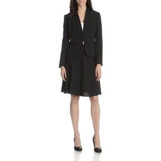 Tahari Arthur S. Levine Women's Pinstripe 2-Piece Skirt Suit