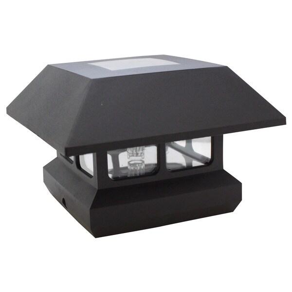 Solar Post 6-pack Light White LED AA NI-MH 600MAH