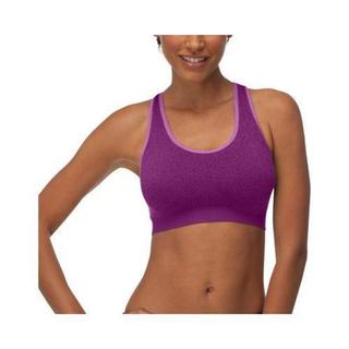 Women's Fila Running with Roses Seamless Bra Purple Cactus Flower 16616608