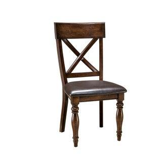 Kingston Raisin X-Back Side Chair-set of 2