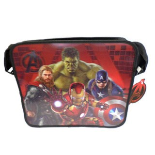 Marvel Avengers 14-inch 3D Messenger Bag