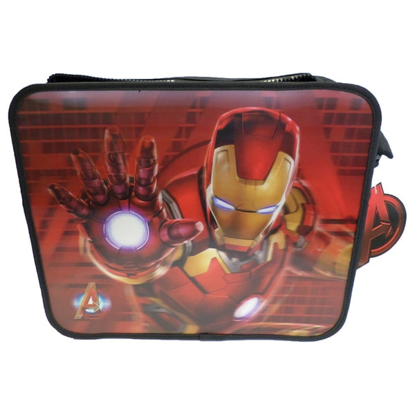 Marvel Avengers Iron Man 14-inch 3D Messenger Bag