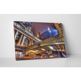 Moises Levy 'Grand Central' Gallery Wrapped Canvas Wall Art