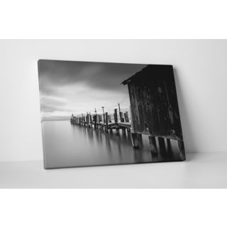Moises Levy 'China Camp Pano' Gallery Wrapped Canvas Wall Art