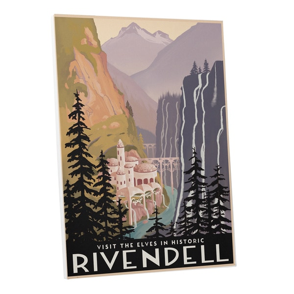 Steve Thomas Historic Rivendell Gallery Wrapped Canvas Wall Art