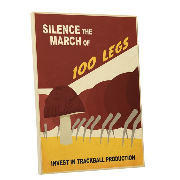 Steve Thomas Silence the March Gallery Wrapped Canvas Wall Art