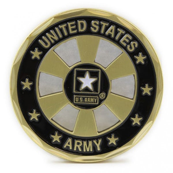 US Army Star Wheel Coin