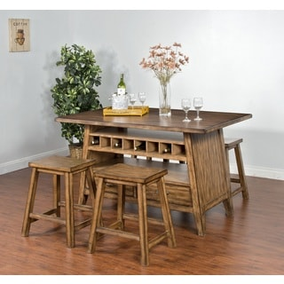 Sunny Designs Cornerstone Table with Storage Base