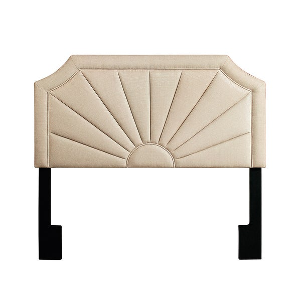 Nebraska Queen Pleated Headboard