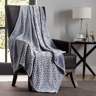 Chevron Two Tone Throw