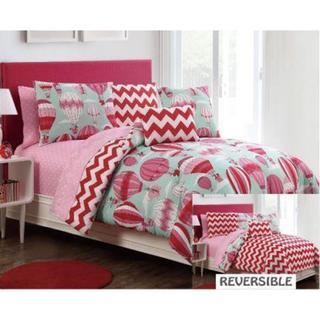 Away We Go Reversible Comforter Set