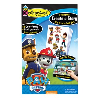 Paw Patrol Colorforms Create A Story