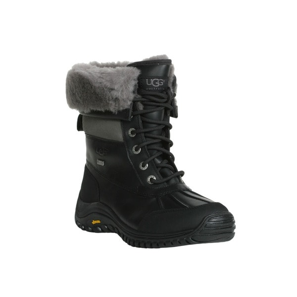 Ugg Women's Black and Grey Adirondack Boot II