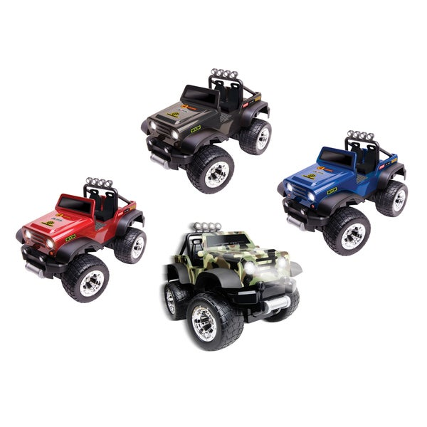 Black Series Radio Controlled All-Terrain Vehicle Off-Road Safari