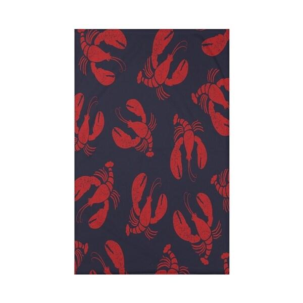 Lobster Fest Animal Print 60 x 80-inch Throw Blanket