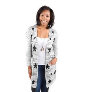 Hadari Women's Stars Cardigan Sweater