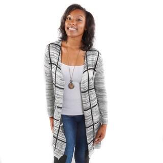Hadari Women's Geometric Cardigan Sweater