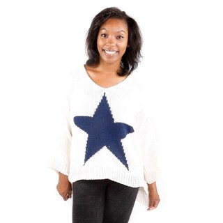 Hadari Women's Bold Center Star Sweater