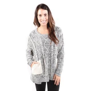 Hadari Women's Bohemian Art Pull Over Sweater