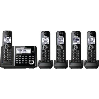 Panasonic KX-TGF345B DECT 6.0 Plus Cordless Landline Phone System (Refurbished)