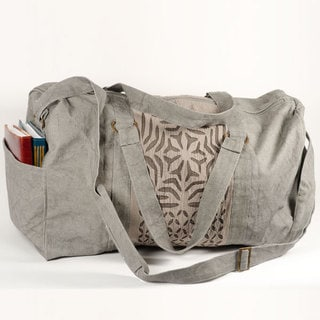 Kaila Appliqué Duffel Bag (Pakistan)