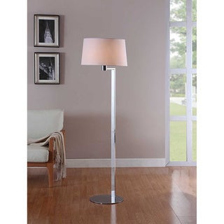 Artiva USA Urban 60-inch Modern Chrome Metal Floor Lamp