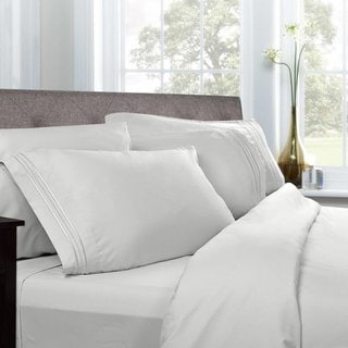 Luxury Solid 5-piece Bed-In-a-Bag with Sheet Set