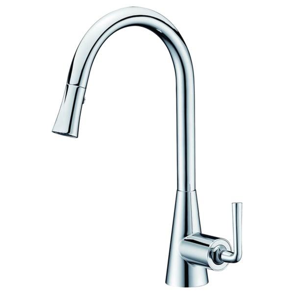 Dawn Chrome Single-lever Pull-down Spray Sink Mixer
