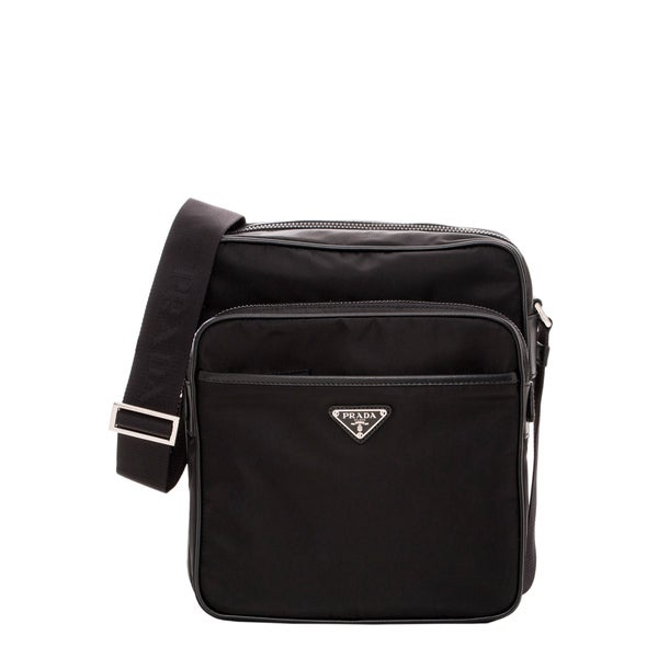 black prada messenger bag