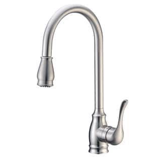 Cadell 2070189 Single Handle Kitchen Faucet with Pull-Down