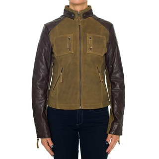 Laundry By Design Suede Leather Jacket