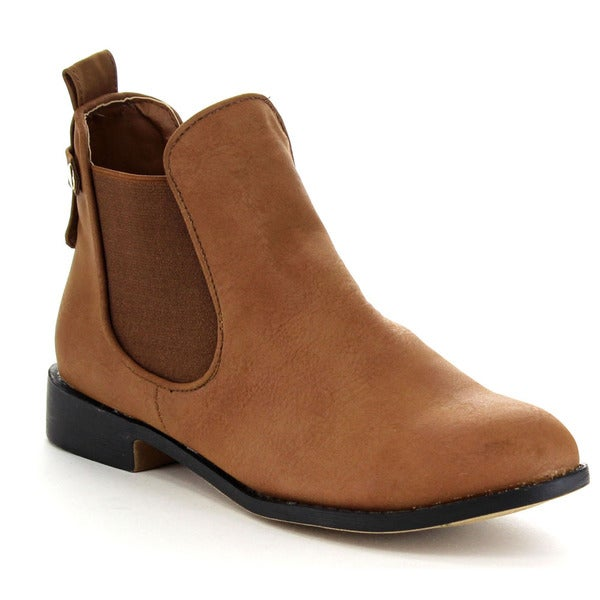 Beston Women's Classic Chelsea Booties