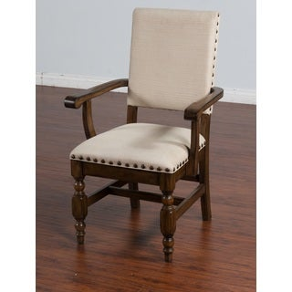 Sunny Designs Savannah Arm Chair with Cushioned Seat and Back
