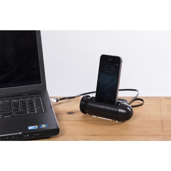 Sportsman's Desk Tactical Finish Bullet Smartphone Dock Station