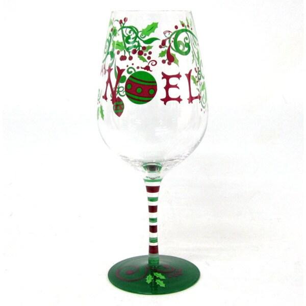 Wine Glass Noel (Set of 4)
