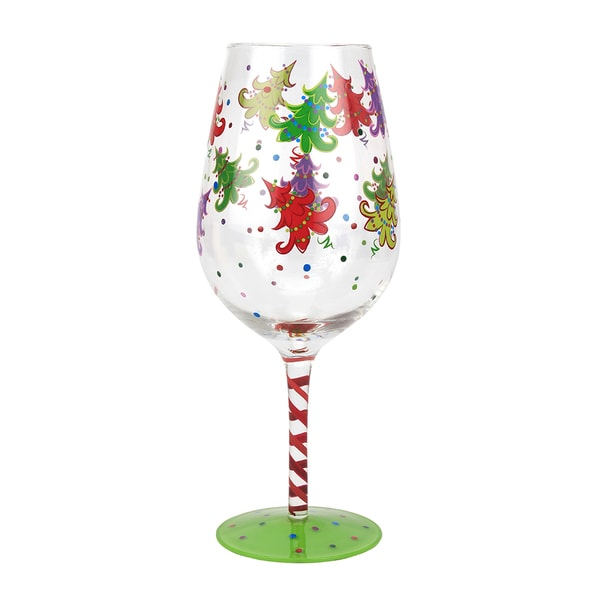 Wine Glass Christmas Trees (Set of 4)