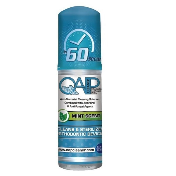 OAP Cleaner for Removeable Dental and Ortho Appliances (Mint Foam)